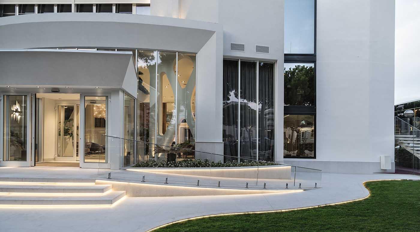 Hotel rimini 4 stelle sul mare hotel sporting e dei congressi - Hotel nuovo giardino rimini ...